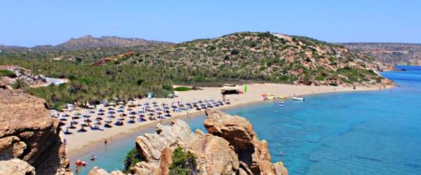 Пляжи Крита с Голубым флагом