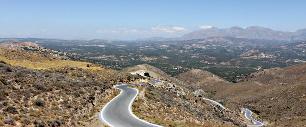 Маршруты по острову Крит на машине